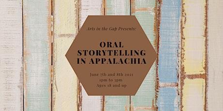 Oral Storytelling in Appalachia : Virtual Workshop tickets