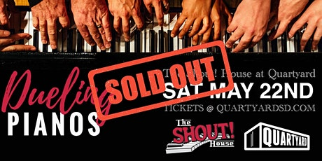 Shout! House Dueling Pianos at Quartyard boletos