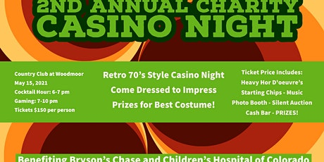 2nd Annual Bryson's Chase 70's Casino Night tickets