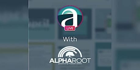 Instagram Live - Arcview Alliance | AlphaRoot tickets