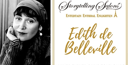 Storytelling Salon with Edith de Belleville  - Paris Tour Guide and Author biglietti