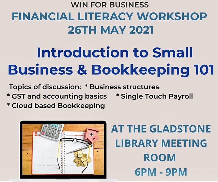 INTRODUCTION to  SMALL BIZ & BOOKKEEPING 101 image