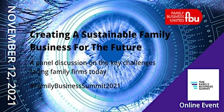 Creating A Sustainable Family Business tickets