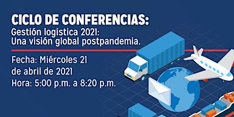 Gestión logística 2021: Una visión global postpandemia entradas