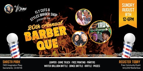 Fly Cuts & Styles - 20th Annual Barber-Que tickets