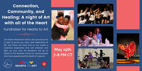 Connection, Community, and Healing: A night of Art with all of the Heart tickets