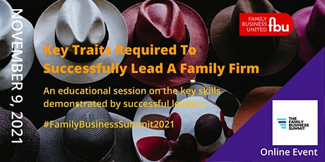 Key Traits Of Future Family Business Leaders tickets