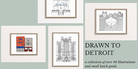 Drawn to Detroit Spring Pop-Up tickets