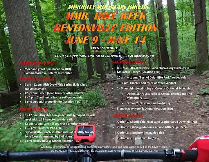 MMB Bike Week - Bentonville Edition image