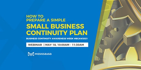 How to Prepare a Simple Small Business Continuity Plan tickets