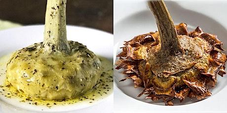 "Cook Italian! ""Roman Artichokes x 2"" - Online Cooking Class tickets"