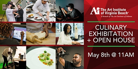 The Art Institute of Virginia Beach - Culinary Exhibition + Open House tickets