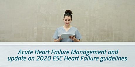 Clinical Notes - Update on Acute Heart Failure Management tickets