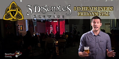 3D Headliners - Funny Fridays With Paul Conyers! tickets