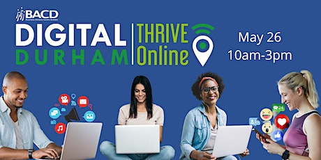 Digital Durham - THRIVE Online tickets