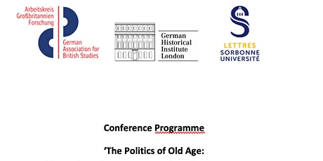 Conference The Politics of Old Age on 7 May tickets