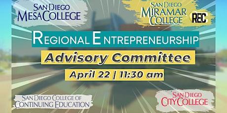 Regional Entrepreneurship Advisory Committee Meeting tickets