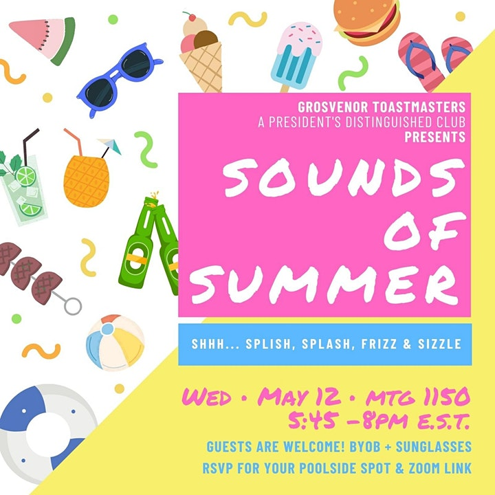 gTM Online Club Meeting #1150 - Theme: Sounds of Summer image