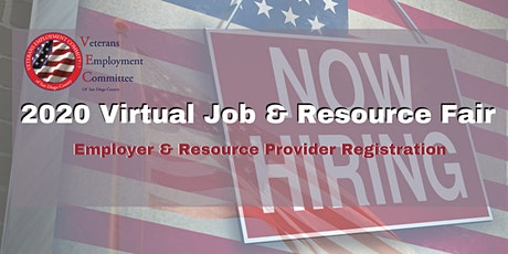 Virtual Job and Resource Fair - Veterans Employment Committee of San Diego tickets
