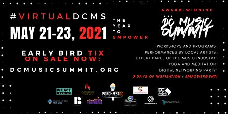 VIRTUAL DC MUSIC SUMMIT 2021 (THREE DAY EVENT) tickets