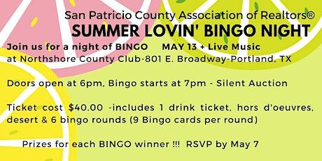 Summer Lovin' Bingo Night tickets