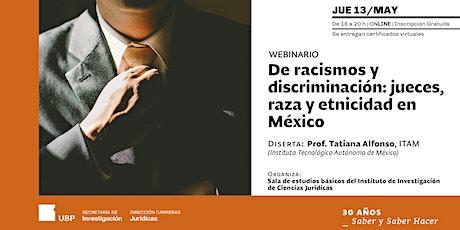 De racismos y discriminación: jueces, raza y etnicidad en México entradas