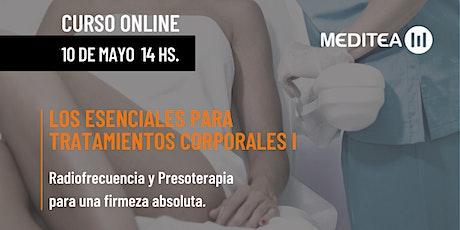 Los esenciales para tratamientos corporales I tickets