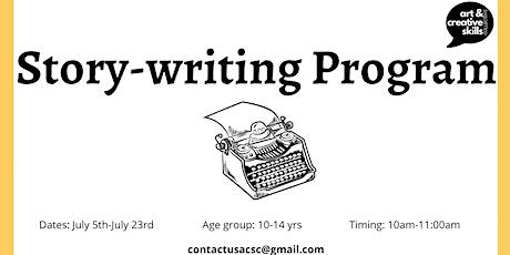 Summer Program - Story Writing tickets