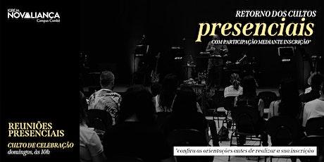 Culto Presencial INA Campus Cambé ingressos