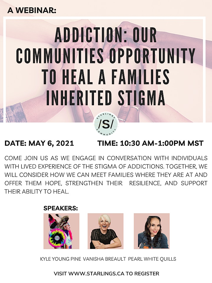 Addictions: A Communities Opportunity to  Heal a Families Inherited Stigma image