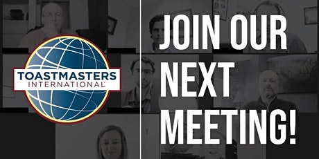 Develop Communication and Leadership Skills with Toastmasters tickets
