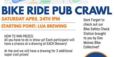 April 2021 Social - DNA Bike Ride Pub Crawl tickets