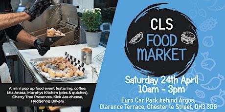 CLS  Food Market - April tickets