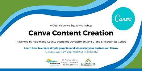 Custom Graphics with Canva tickets