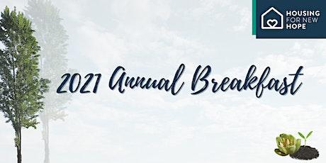 2021 Virtual Annual Breakfast tickets