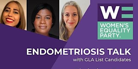 Women's Equality Party GLA Endometriosis Talk tickets