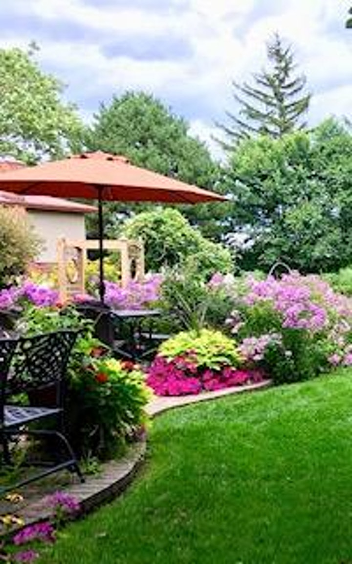 """""""Every Garden Tells a Story""""  Garden Walk & Bazaar image"""