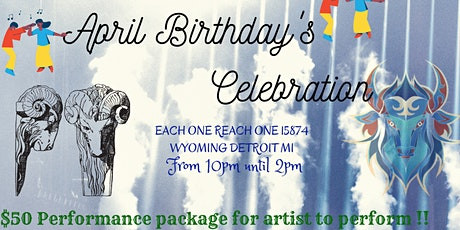 April Birthday's Celebration tickets