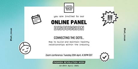 FASHION REVOLUTION UAE - CONNECTING THE DOTS... tickets