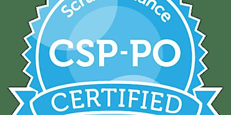 Certified Scrum Professional -ProductOwner | CSP-PO | en-de| 1:1 flexibel Tickets