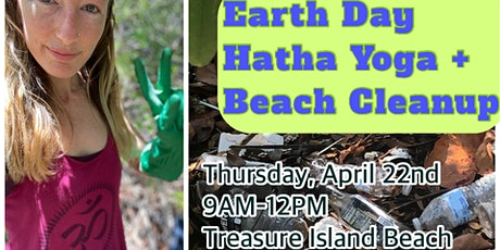 Earth Day Hatha Yoga + Beach Cleanup! tickets