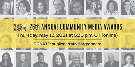 26th Annual Community Media Awards tickets