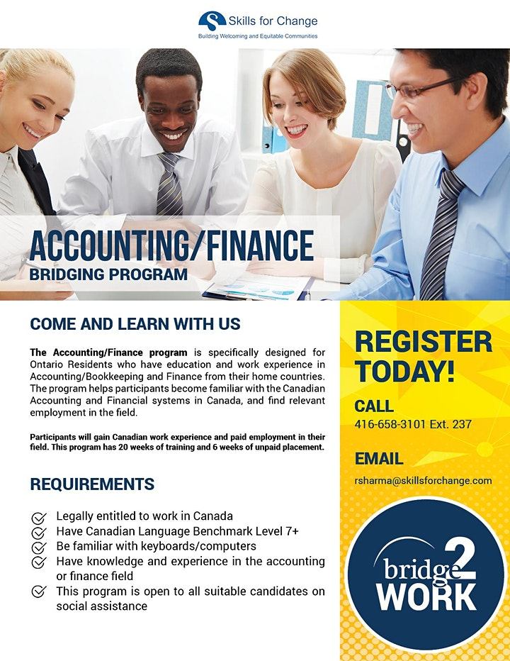 Online Information Session: Accounting and Finance Programs image