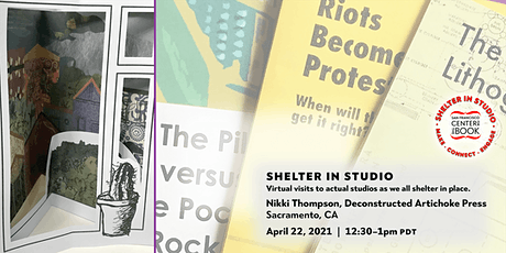 SFCB Shelter in Studio tour :: Nikki Thompson/Deconstructed Artichoke Press tickets