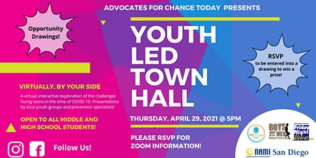 Virtually, By Your Side: Youth Led Town Hall tickets
