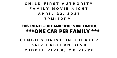 Child First Authority Family Movie Night at Bengie's tickets
