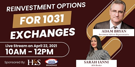 Reinvestment Options for 1031 Exchanges tickets