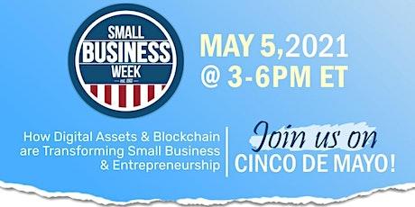 Virtual Blockchain Small Business Week Forum tickets