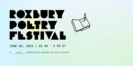 Roxbury Poetry Festival 2021 tickets