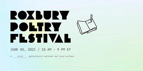 Roxbury Poetry Festival 2021 entradas